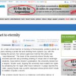 """Nuestra campaña """"Reinventando el olvido"""" en medios internacionales"""