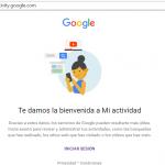 Nueva herramienta de Google para el control de nuestros datos